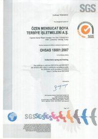 OHSAS18001Yeni